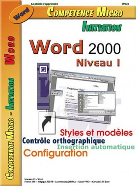 Booklet's front page - Word 2000 niv.1