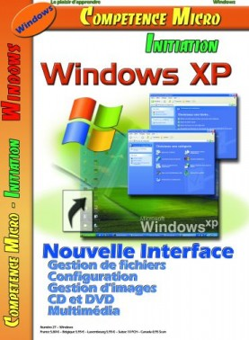 Booklet's front page - Windows XP