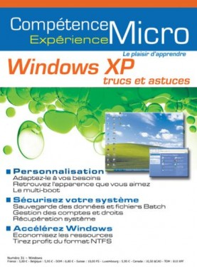 Booklet's front page - Windows XP trucs et astuces