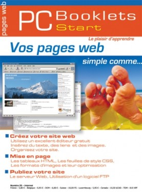 Booklet's front page - Vos pages web, simple comme...