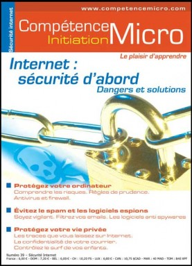 Booklet's front page - Internet : Sécurité d'abord - dangers et solutions