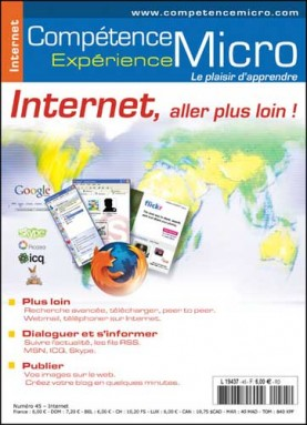 Booklet's front page - Internet, aller plus loin !