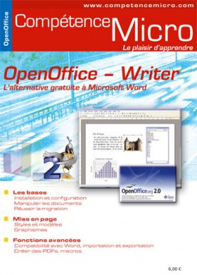 Booklet's front page - OpenOffice - Writer, l'alternative gratuite à Microsoft Word