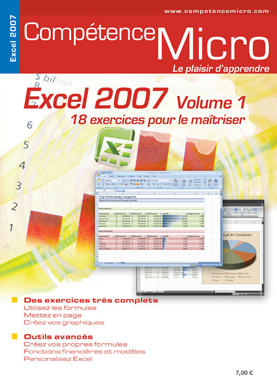 Booklet's front page - Excel 2007 - volume 1