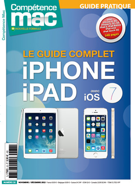 Booklet's front page - Compétence Mac 32 : Le Guide Complet iPhone & iPad avec iOS 7