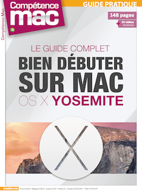 Booklet's front page - Compétence Mac 38 • Le guide complet OS X Yosemite