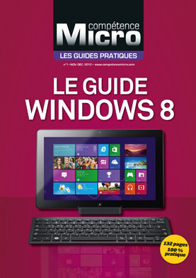 Booklet's front page - Le Guide Windows 8